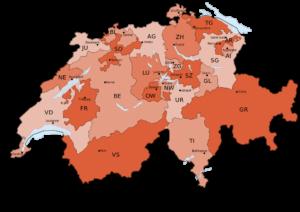 Suisse et 26 Cantons